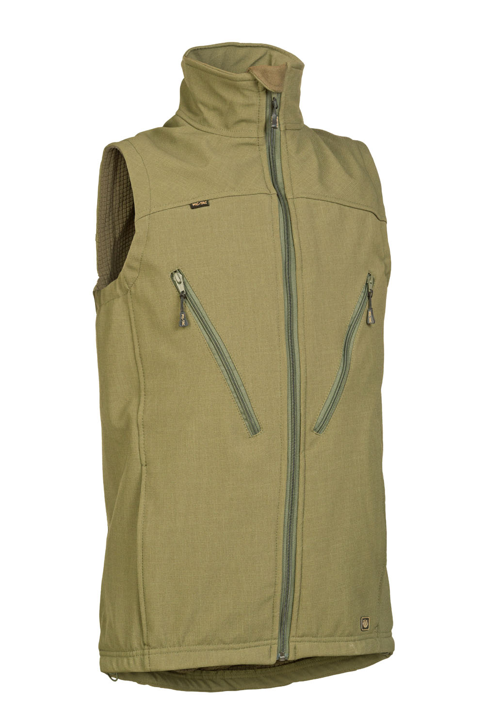 Demi-season mountain vest with lining