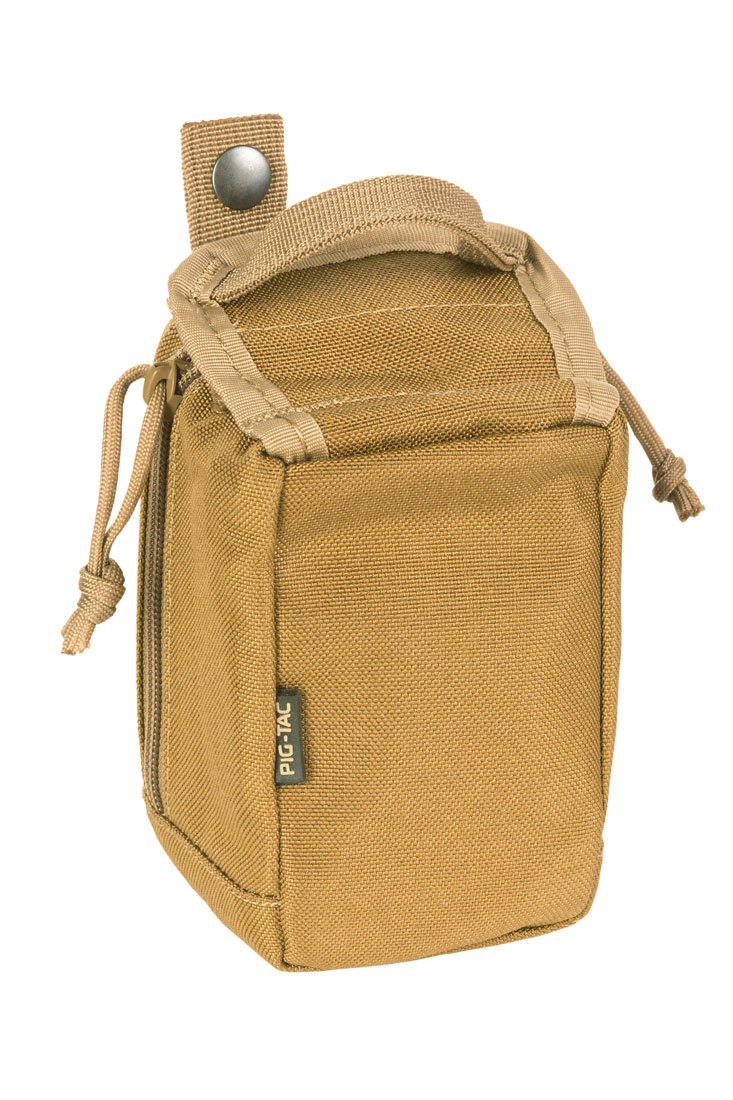 Small personal medical pouch MOLLE