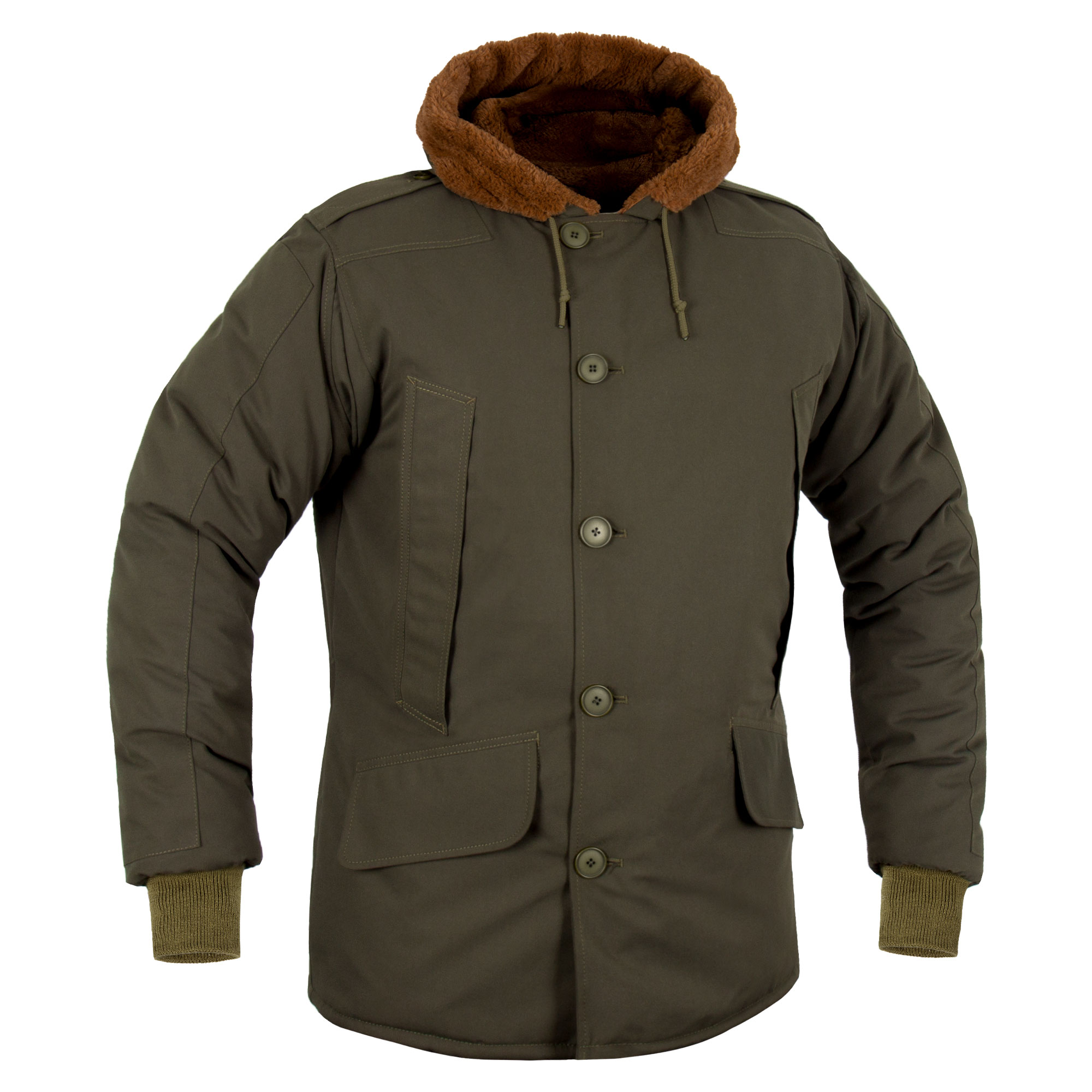 Cold weather parka