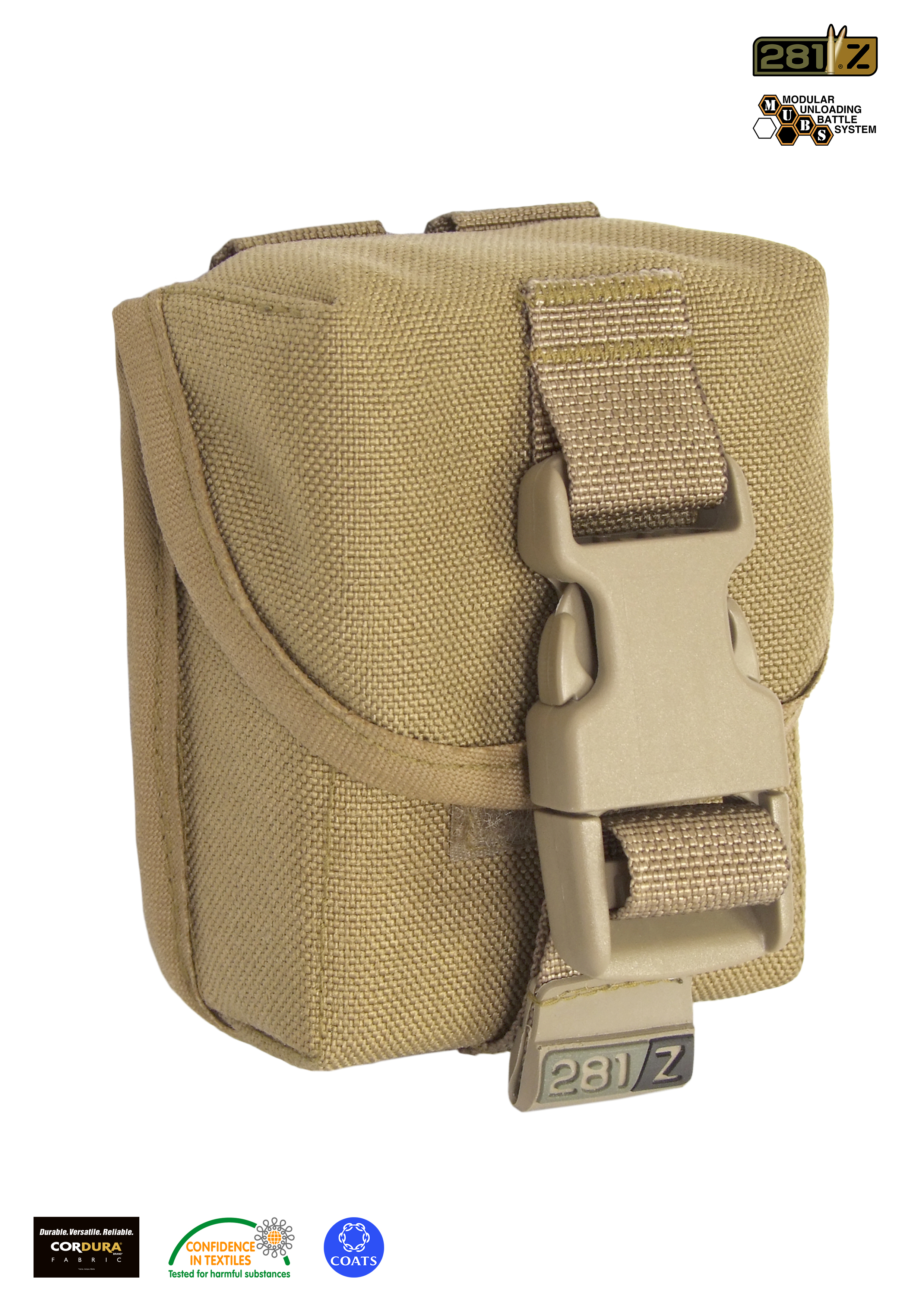 Single mag. sniper rifle pouch M.U.B.S.