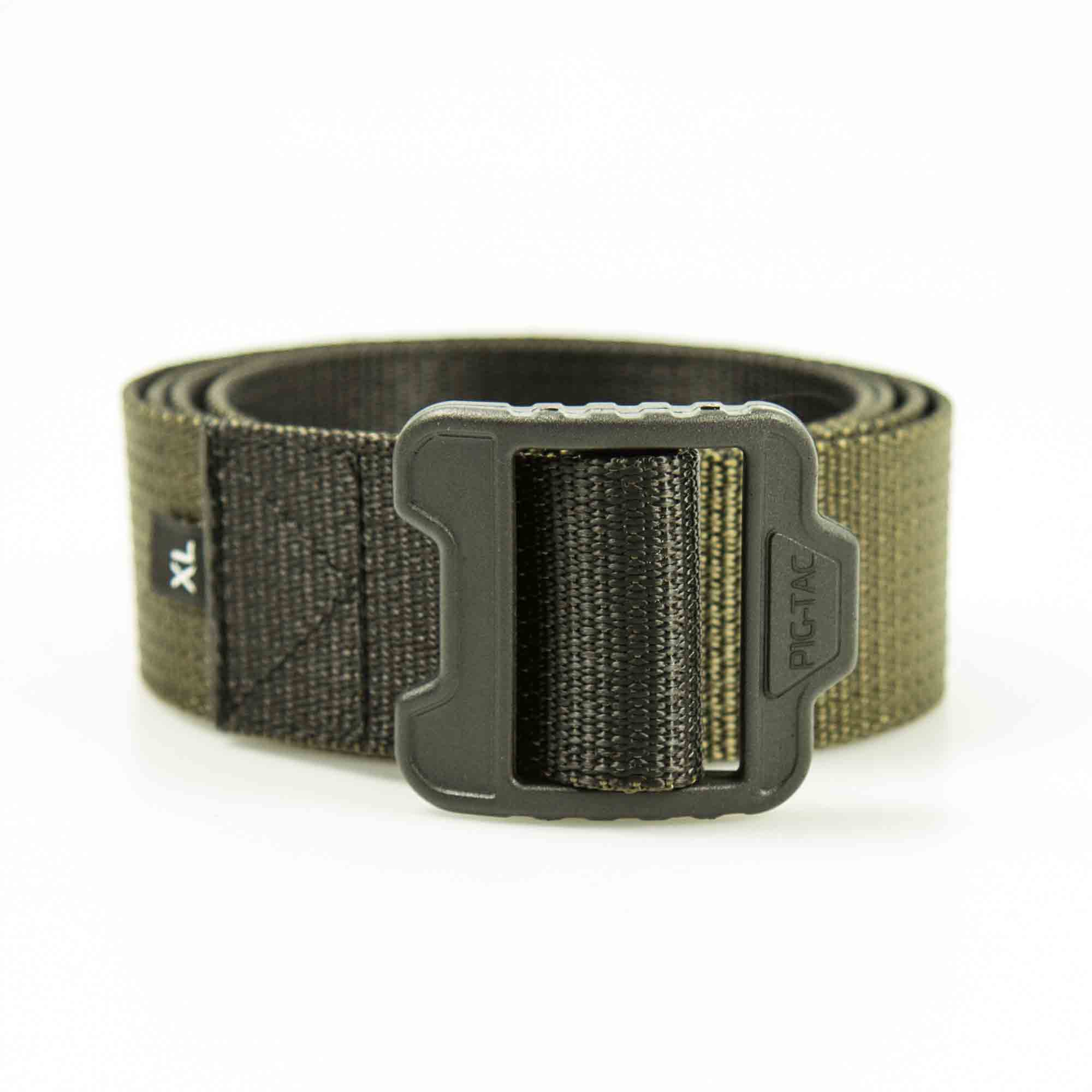 Double sided duty trouser`s belt