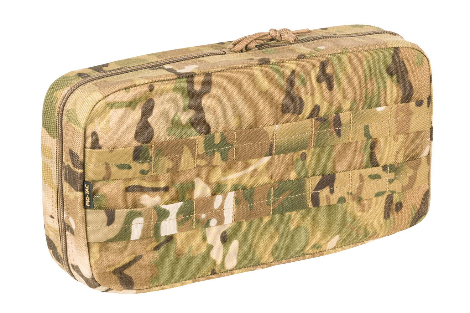 Large horizontal utility pouch