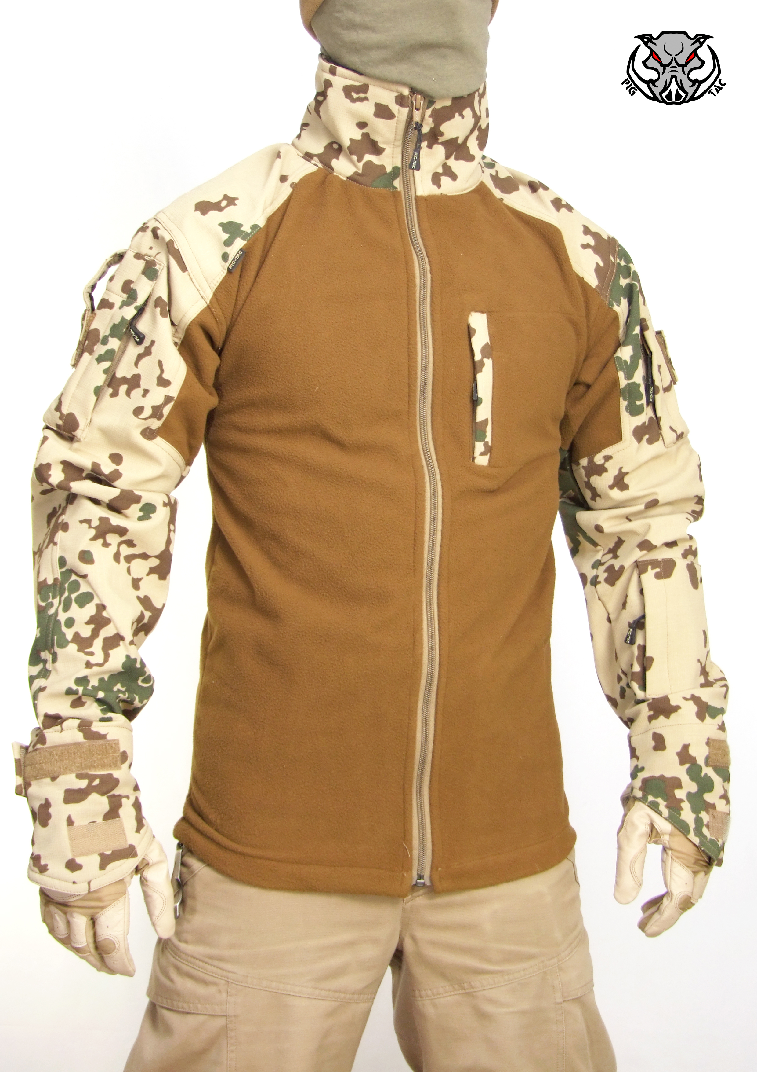 Winter field combat jacket