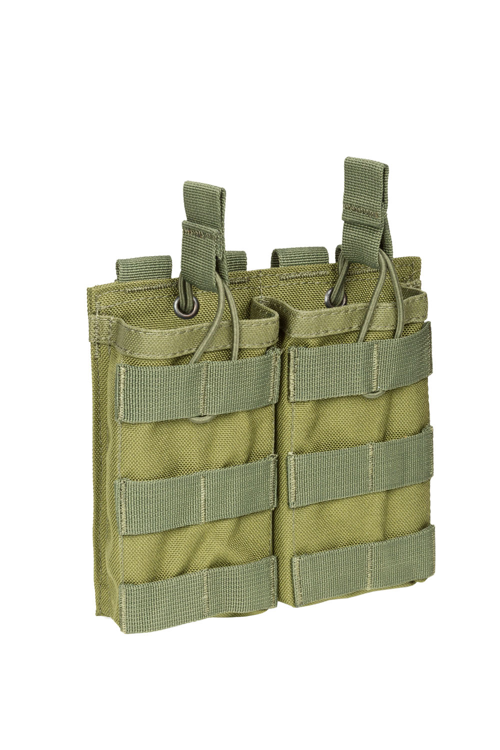 Double AK/AR-15 open-top mag pouch