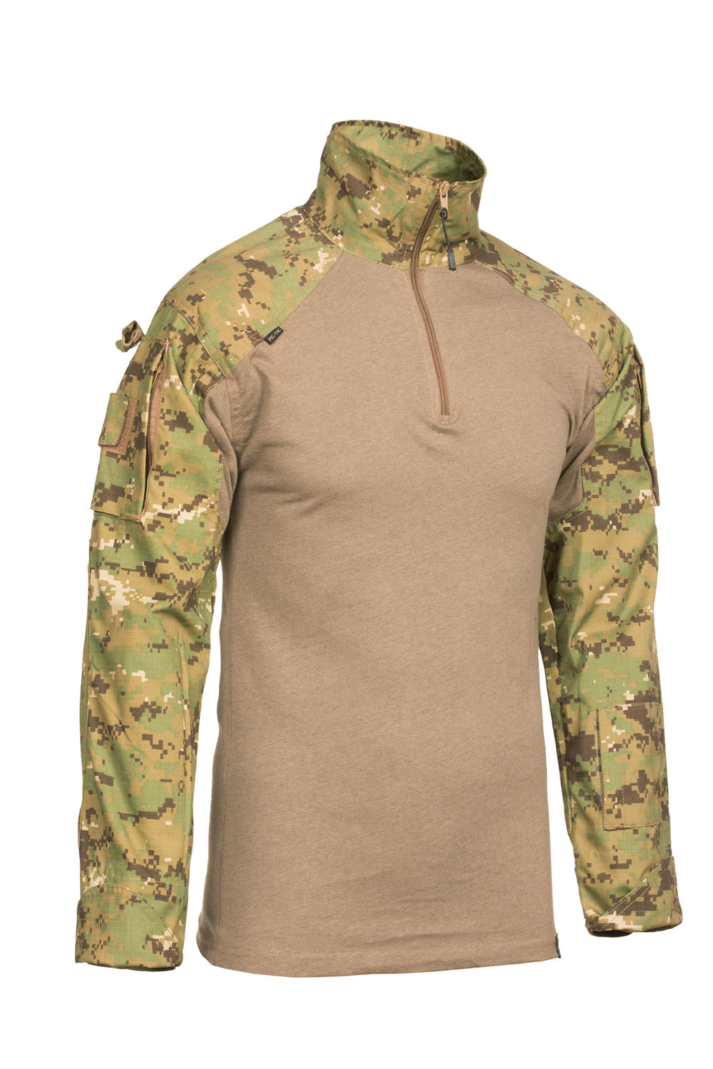 Combat field shirt for hot climates