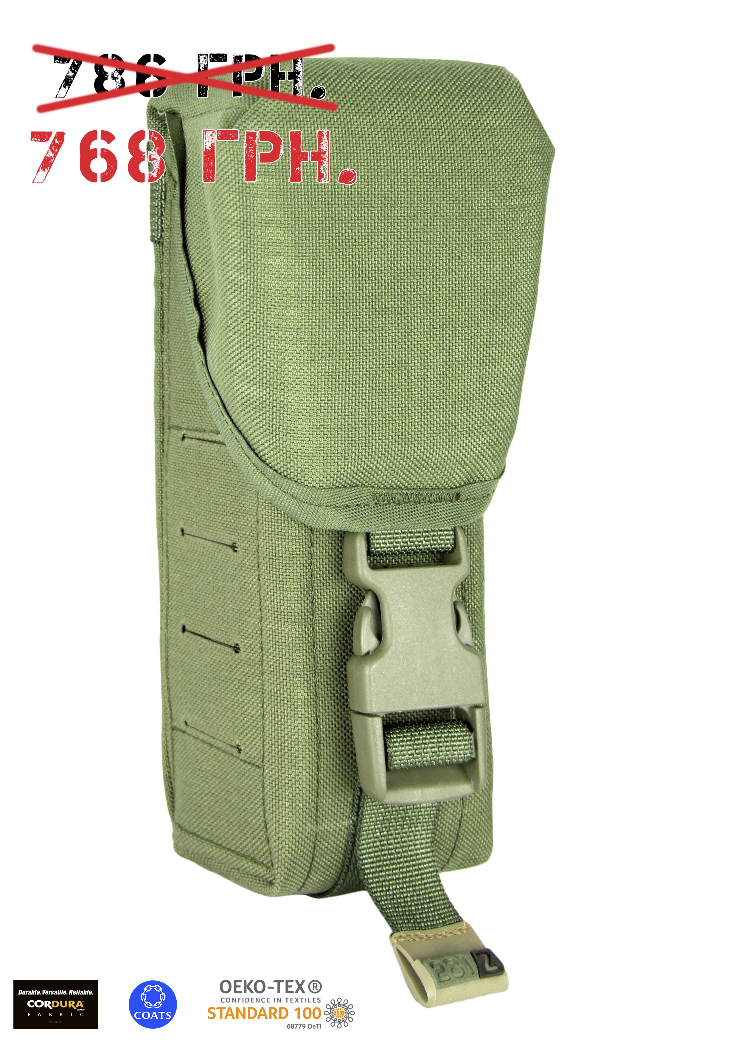 Assault rifle double mag. pouch M.U.B.S.