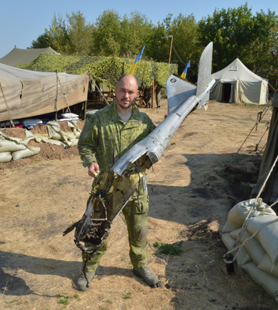 Vyacheslav Galva, - call sign Kuzmich in a field suit MABUTA-Mk-2 byP1G-Tac®