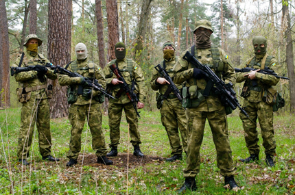 Soldiers of the 79th mechanized brigade in the equipment of P1G-Tac®
