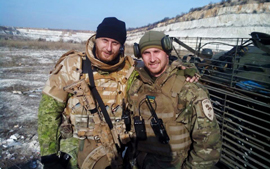 Sergey Larkin and Callsign Marshall equipped from P1G-Tac®